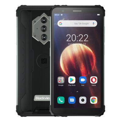 Blackview BV6600 IP68 IP69K Vízálló 5.7 inch NFC Android 10 8580mAh 4GB RAM 64GB ROM MT6762V 4G Okostelefon