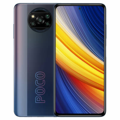 POCO X3 Pro Snapdragon 860 8GB RAM 256GB ROM 6.67 inch 120Hz Képfrissítési Ráta 48MP Quad Kamera 5160mAh Octa Core 4G Okostelefon