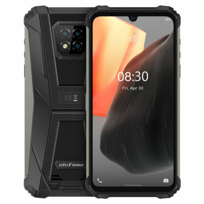 Ulefone Armor 8 Pro IP68 IP69K Vízálló Android 11 6GB RAM 128GB ROM 6.1 inch Helio P60 Octa Core 4G Rugged Okostelefon