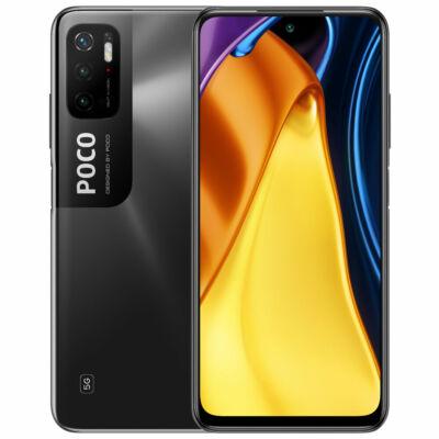 POCO M3 Pro 5G NFC Globális verzió Dimensity 700 4GB RAM 64GB ROM 6.5 inch 90Hz FHD+ DotDisplay 5000mAh 48MP Triple Camera Octa Core 5G Okostelefon