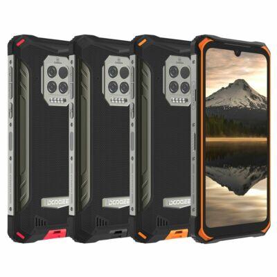DOOGEE S86 Pro 6.1 inch IP68 IP69K Vízálló NFC 8500mAh 8GB RAM 128GB ROM Helio P60 16MP AI Triple Camera 4G Okostelefon