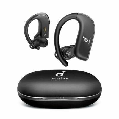 EU ECO Raktár - Anker Soundcore Spirit X2 TWS Vezetéknélküli Bluetooth 5.0 Earphone Bass Turbo CVC 8.0 IP68 Vízálló Fülhallgató - Fekete
