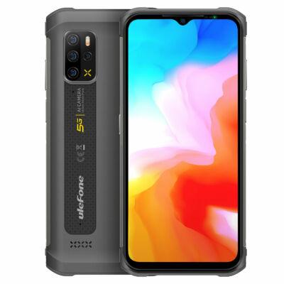 Ulefone Armor 12 5G MTK Dimensity 700 6.52 inch 8GB 128GB 48MP Quad Camera NFC 5180mAh IP68 Vízálló 4G Okostelefon