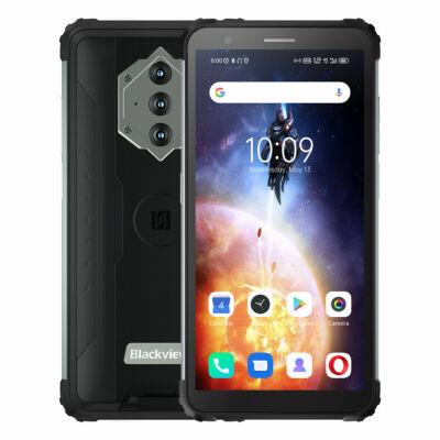 Blackview BV6600E IP68 IP69K Vízálló Android 11 8580mAh 4GB RAM 32GB ROM SC9863A 5.7 inch Octa Core 4G Okostelefon