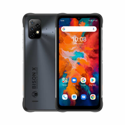 UMIDIGI BISON X10 IP68 P69K Vízálló NFC 6150mAh Android 11 6.53 inch Triple Camera 4GB RAM 64GB ROM Helio P60 4G Okostelefon