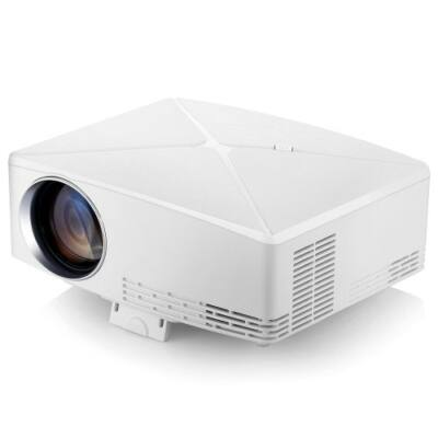 EU ECO Raktár - VIVIBRIGHT C80 LCD Projektor - Fehér (Android Verzió)