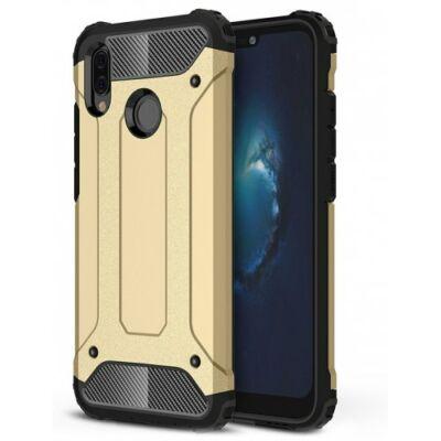ASLING Diamond Armor Series Ütésálló Mobiltelefon Tok HUAWEI P20 Lite / Nova 3E - Fekete