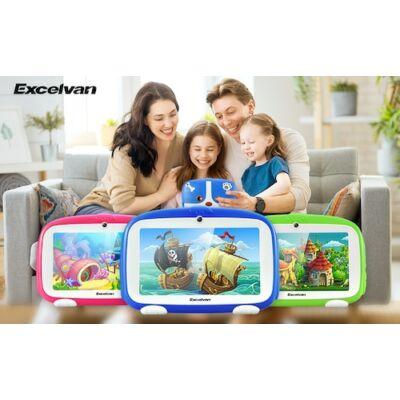 Excelvan Q738 7 Inch A50 Android 9.0 1GB RAM 16GB ROM Dual Camera WiFi USB Táblagép Gyerekeknek
