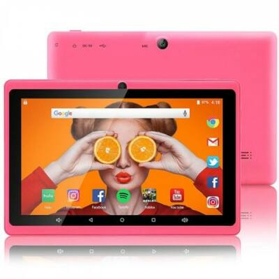 EU ECO Raktár - zonko x77 Gyerek Tablet PC 7.0 inch 1GB RAM + 8GB ROM - Pink