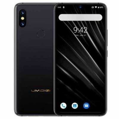 EU ECO Raktár - UMIDIGI S3 Pro 4G okostelefon - Fekete