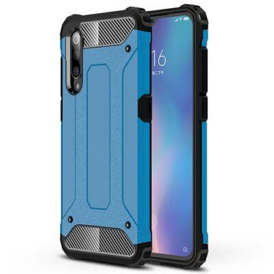 ASLING Diamond Armor 360 Fokos Ütésálló Mobiltelefon Tok Xiaomi Mi 9 - Kék