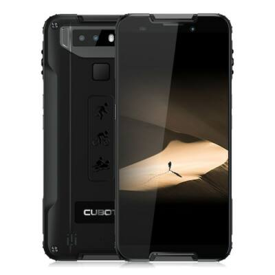 CUBOT Quest 5.5 inch 4G Sport Octa Core CPU / Gorilla Glass 5 / 4GB + 64GB / Android 9.0 / Fingerprint Sensor / Face ID / IP68 Vízálló