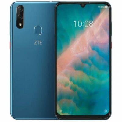 EU ECO Raktár - ZTE Blade V10 4G okostelefon - 4GB 64GB - Zöldes kék