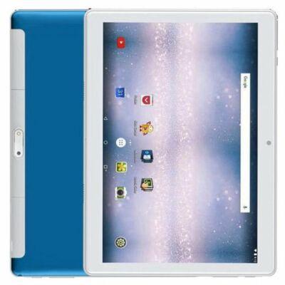 EU ECO Raktár - 10.1 inch 2.5D 4G Táblagép 4GB RAM 64GB ROM Android 8.1 - Kék