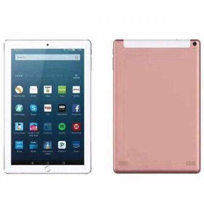 EU ECO Raktár - 10.1 inch 2G / 3G Táblagép 4GB RAM 64GB ROM Android 7.0 - Pink
