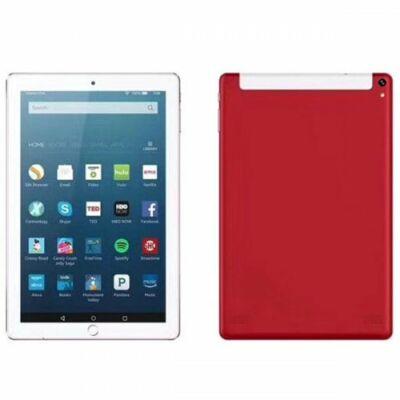 EU ECO Raktár - 10.1 inch 2G / 3G Táblagép 4GB RAM 64GB ROM Android 7.0 - Piros