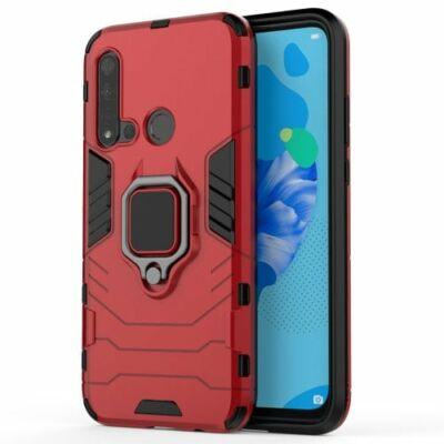 Ütésálló Mobil Tok Huawei Nova 5i / P20 Lite(2019) Készülékre - Piros