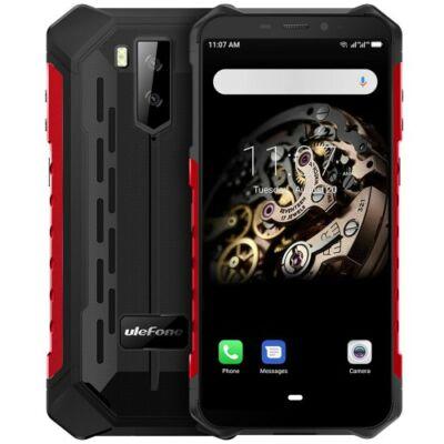 EU ECO Raktár - Ulefone Armor X5 4G okostelefon 5.5 inch Android 9.0 - Piros