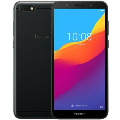 EU ECO Raktár - HUAWEI Honor 7S 4G Okostelefon 5.45 inch Android 8.1 2GB RAM 16GB ROM - Fekete
