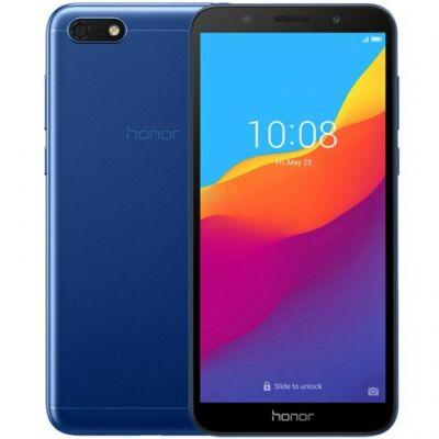 EU ECO Raktár - HUAWEI Honor 7S 4G Okostelefon 5.45 inch Android 8.1 2GB RAM 16GB ROM - Kék