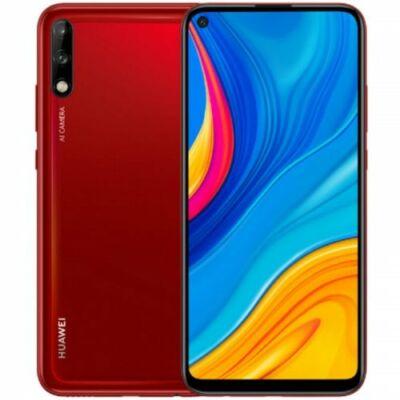 EU ECO Raktár - HUAWEI Enjoy 10 4G okostelefon 6.39 inch EMUI 9.1 Android 9 4GB RAM 64GB ROM - Piros