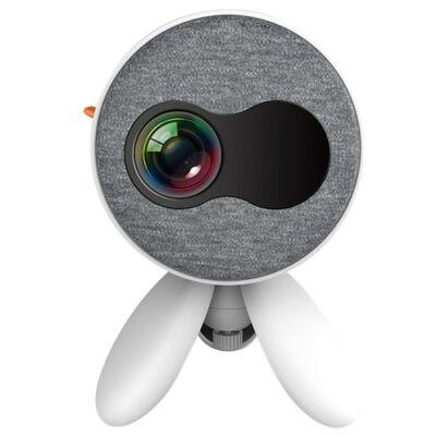 EU ECO Raktár - ANBOLT YG220 Mini HD Otthoni Okos LED Projektor - Fehér