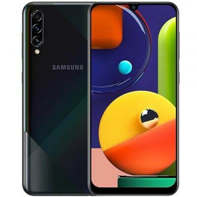 EU ECO Raktár - Samsung Galaxy A50s 4G okostelefon 6.4 inch Android 9.0 Exynos 9611 Octa Core 6GB RAM 128GB ROM - Fekete