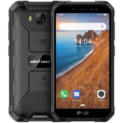 EU ECO Raktár - Ulefone Armor X6 3G Okostelefon 5 inch Android 9.0 MT6580 Quad Core 2GB RAM 16GB ROM - Fekete