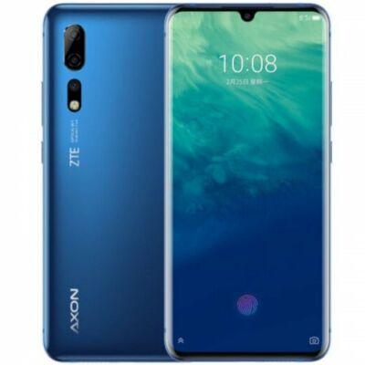 EU ECO Raktár - ZTE Axon 10 Pro 4G Okostelefon 6.47 inch Android 9.0 Snapdragon 855 8GB RAM 256GB ROM - Kék