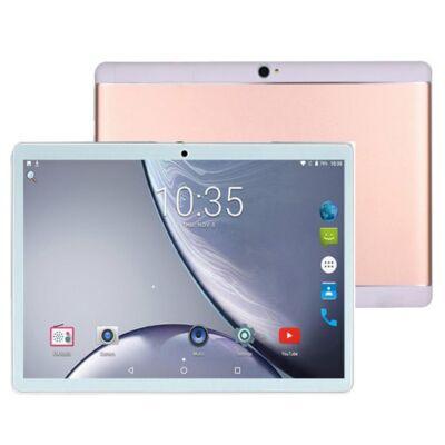 EU ECO Raktár - K109-A 10.1 inch 4G Táblagép MT6797 Deca Core CPU Android 8.1 4GB RAM + 64GB ROM Tablet PC - Rózsaszín
