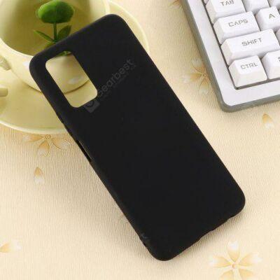Liquid Szilikon Tok Huawei Honor 30S - Fekete