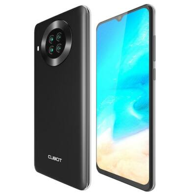 EU ECO Raktár - CUBOT NOTE 20 4G Okostelefon Helio A20 Android 10 3GB RAM + 64GB ROM 6.5 inch 12MP+20MP+0.3MP Kamera - Fekete