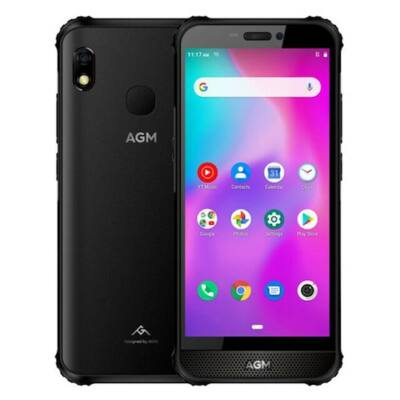 EU ECO Raktár - AGM A10 Rugged 4G Okostelefon 5.7 inch Phone NFC 6GB RAM 128GB ROM - Fekete