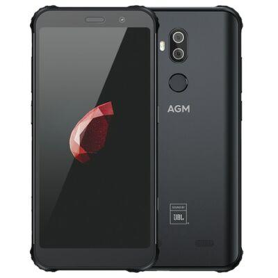 EU ECO Raktár - AGM X3 Rugged 4G Okostelefon Snapdragon 845 JBL-Cobranding 5.99 inch IP68 Vízálló 6GB RAM 64GB ROM - Fekete