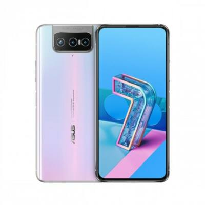 EU ECO Raktár - ASUS Zenfone 7 Pro 5G Okostelefon 8GB RAM 256GB ROM Snapdragon 865Plus 64MP + 12MP + 8MP előlapi Camera 5000mAh NFC Android 10 6.67-inch 90Hz Globális verzió - Fehér