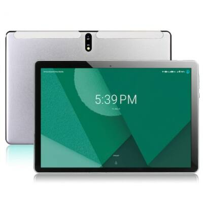 EU ECO Raktár - BDF Tablet PC Octa Core Android 9.0 Google Play 4G LTE Tablets WiFi GPS 2.5D 1280 x 800 - Ezüst