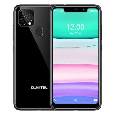 Oukitel C22 4G Okostelefon 4GB RAM 128 ROM 13MP Triple Camera 2.5D üveg Back 1.8GHz 4000mAh