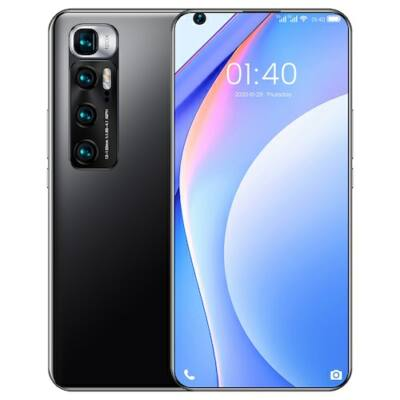 M10 Ultra 4G Okostelefon MT6889 Octa Core 7.2 inch 2GB RAM 32GB ROM Android 9.1 8MP + 12MP Cameras 4800mah Battery Face ID Fingerprint Recognition with WiFi + BT + FM + GPS