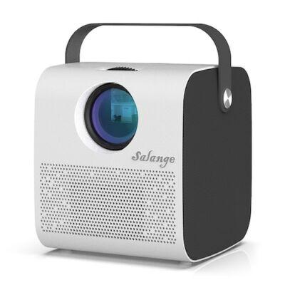 EU ECO Raktár - Bilikay P52 Mini Vezetéknélküli Okos Otthoni Projektor 1280x720 Felbontással - Fehér