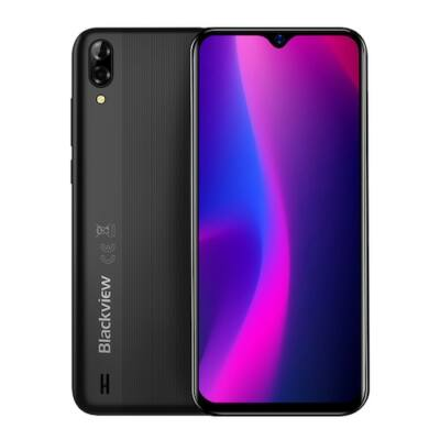 Blackview A60 Global Version 6.1 inch 19:9 Waterdrop Screen 4080mAh Android 8.1 1GB RAM 16GB ROM MT6580A Quad Core 3G Okostelefon