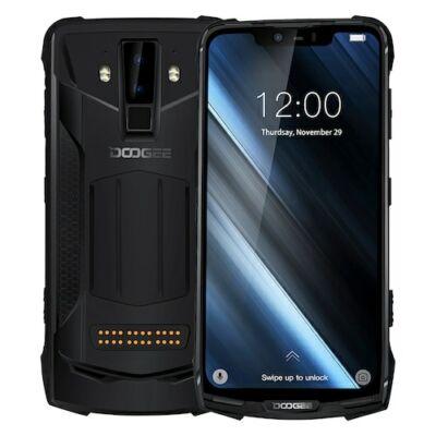 Doogee S90C IP68 Vízálló 6.18 inch FHD+ NFC 5050mAh 16MP + 8MP AI Dual előlapi Cameras Helio P70 4G Okostelefon