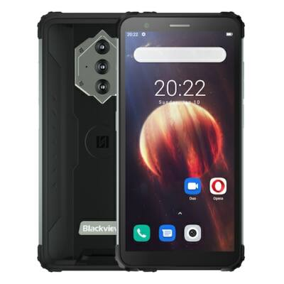 Blackview BV6600 IP68 Vízálló 8580mAh 4G Rugged Smartphone Octa Core 4GB RAM + 64GB ROM 5.7 inch FHD Mobile Phone 16MP Camera NFC Android 10