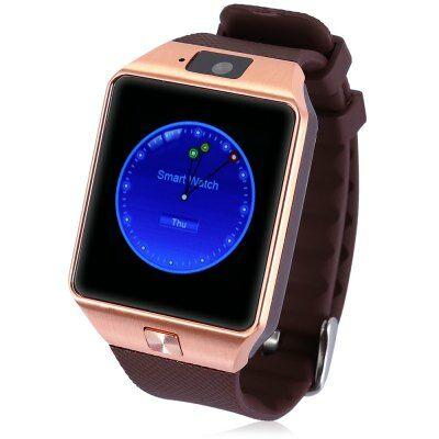 DZ09 1.56 HD MTK6260A Bluetooth 3.0 okosóra telefon - Arany