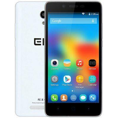 EU Raktárról - Elephone P6000 Pro 5.0 HD IPS Android 5.1 MTK6753 64bit 3GB 4G LTE Okostelefon - Fehér