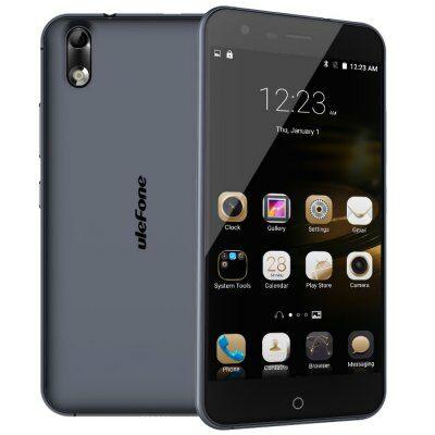 EU Raktárról - Ulefone Paris Android 5.1 4G okostelefon - Fekete