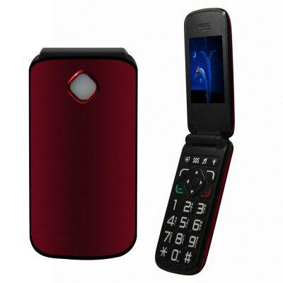 VKWORLD Diamond Z2 mobiltelefon - Piros