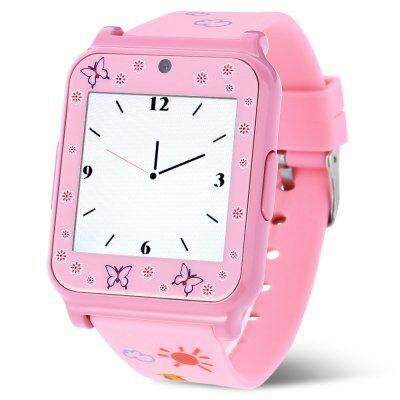 W90 okosóra telefon - Pink