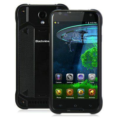 EU Raktár - Blackview BV5000 4G okostelefon - Fekete