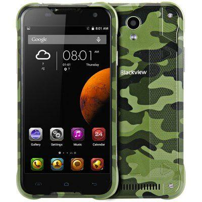 EU Raktár - Blackview BV5000 4G okostelefon - Terepszínű