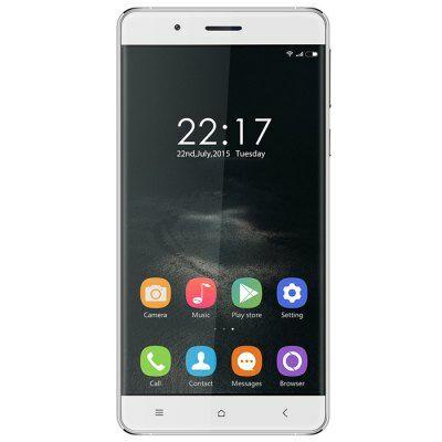 EU2 Raktár - OUKITEL K4000 5.0 HD 2.5D Android 5.1 MTK6735 OTG 4G Okostelefon - Fehér
